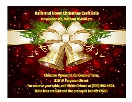 Bells and Bows Christmas Craft Fair